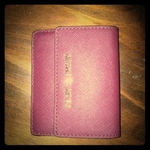 Michael Kors Purple Small Wallet